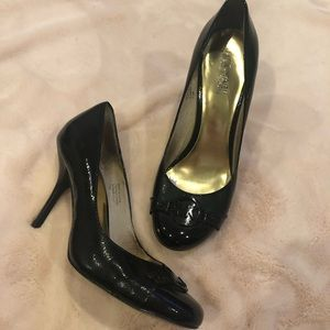 Michael By Michael Kors MK Patent Leather Pumps